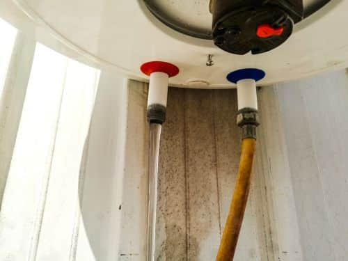 Montaža inox cevi bojlera